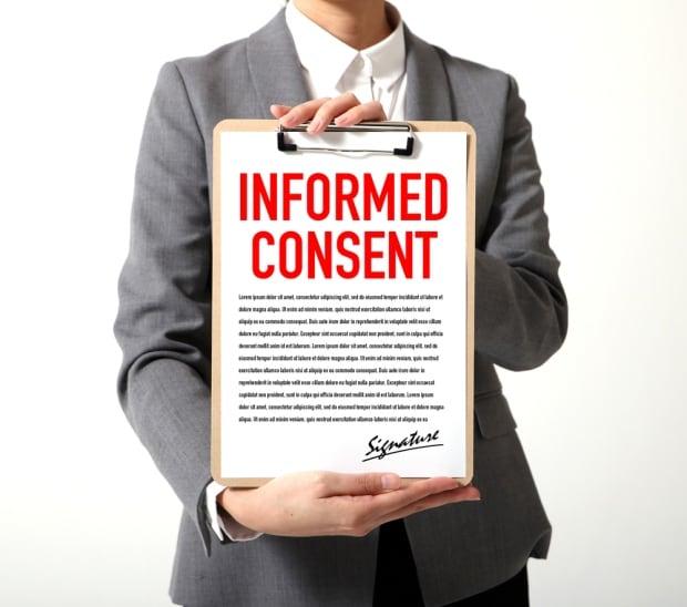 patient consent clip board