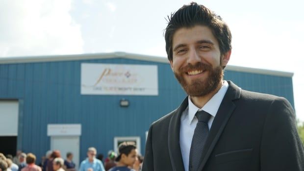 Tareq Hadhad says the new facility is a huge step for his family's business.