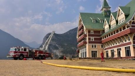 Waterton evacuation