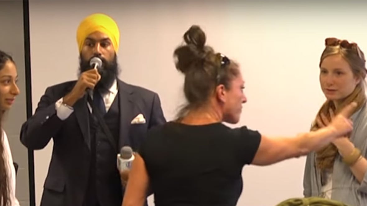 Jagmeet Singh Praised For Calm And Positive Reaction To