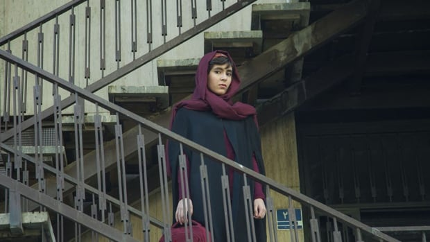 Actress Mahour Jabbari appears in a scene from Sadaf Foroughi's new film Ava. Jabbari and another co-star, Shayesteh Sajadi, were denied entry into Canada to attend the Toronto International Film Festival.