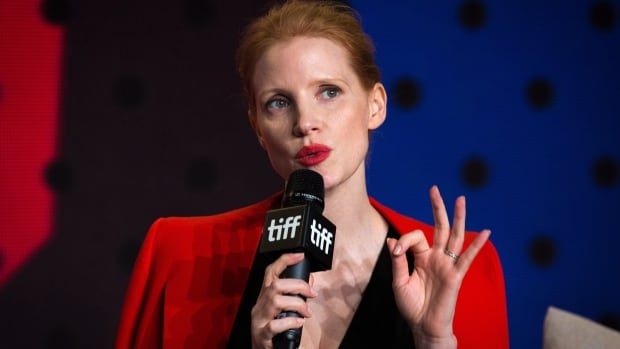Jessica Chastain stars in the fast-paced drama Molly's Game, which premiered at the Toronto International Film Festival on Friday.