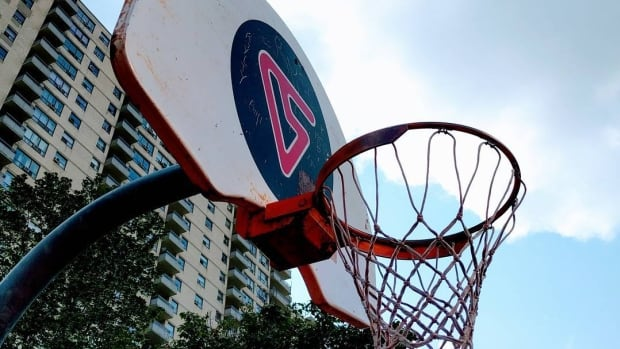 Fourteen years after former Toronto Raptor basketball star Vince Carter donated a court to the community of Dixon Road his initials and logo still show prominently against the backboard.