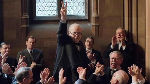 Darkest Hour stars Gary Oldman as Winston Churchill.
