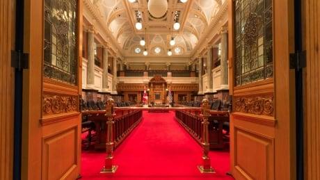 B.C. Legislature Chamber