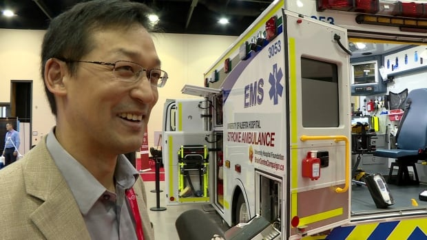 Dr. Albert Jin says he would like to see stroke ambulances expanded to more provinces.