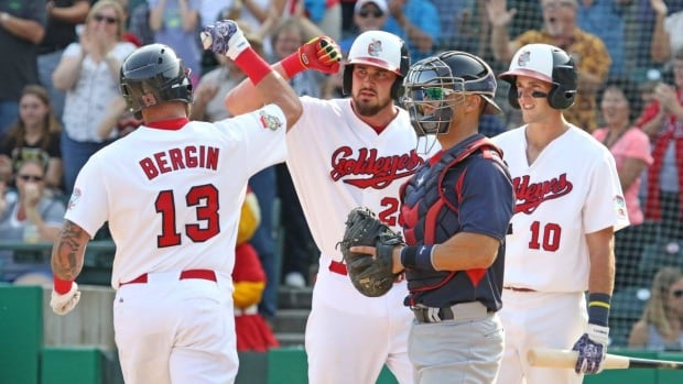 The Winnipeg Goldeyes bested the Lincoln Saltdogs on Sunday evening to advance to the American Association Championship.