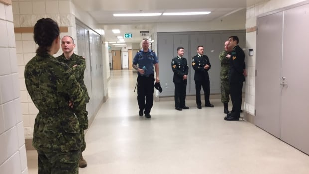 A court martial is being held in St. John's for Master Cpl. Greg Young, not pictured here, who is accused of two charges stemming from two alleged incidents in August 2015.