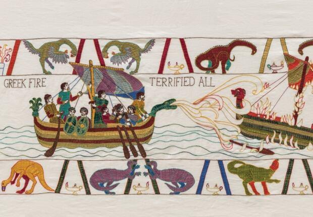 Oil Tapestry