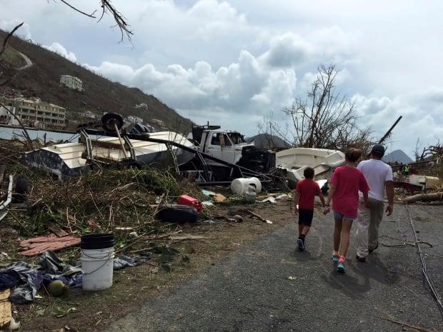 Hurricane Irma Caribbean