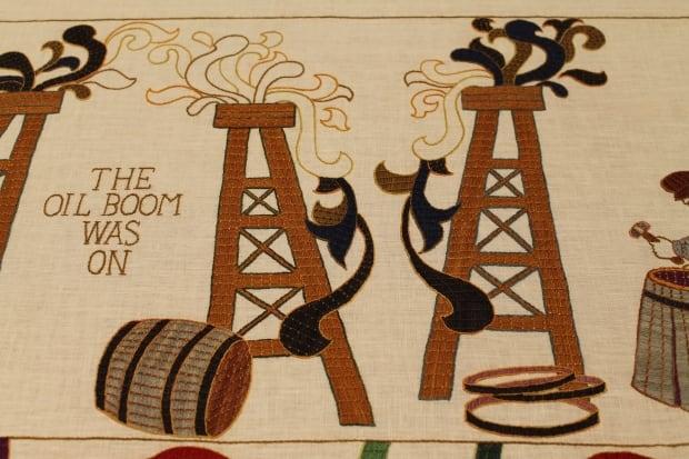 Black Gold tapestry