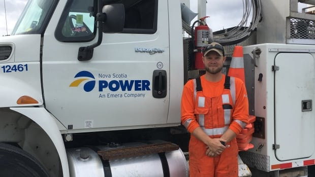 Nova Scotia Power technician Jason Cochrane is heading to Tampa, Fla., on Tuesday morning to help get power back in the city following Hurricane Irma.
