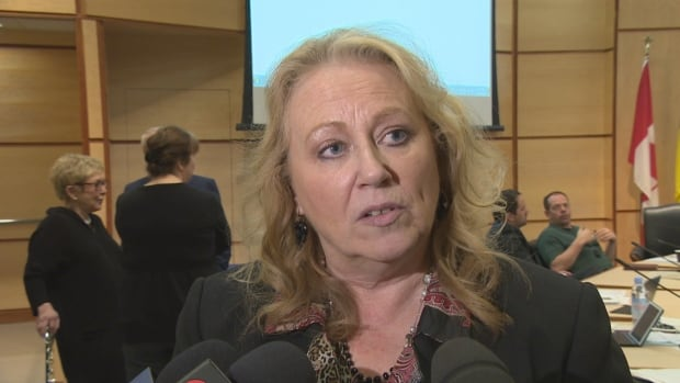Erna Hall, deputy clerk of the City of Regina, says she believed Almeda University was an accredited institution when she signed up to get her MBA.