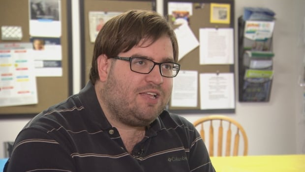 Film critic Michael McNeely, who is deaf and partially blind, gave up going to the film festival this year because of the barriers he faces.