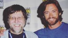 Hugh Jackman and Len Wein