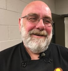 Executive chef Pat Mills