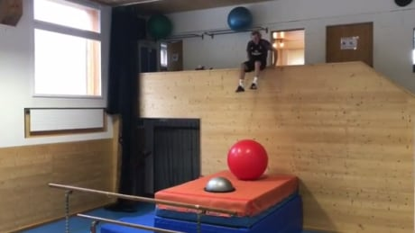 Andri Ragettli working out