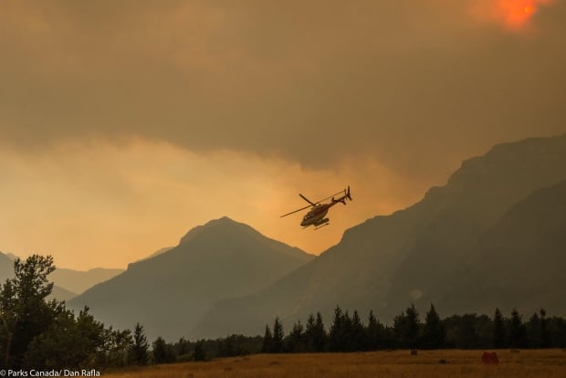 Kenow wildfire waterton