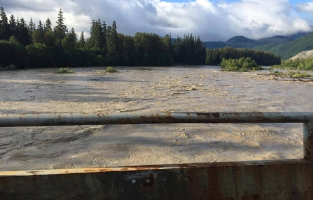 Kitimat River flooding