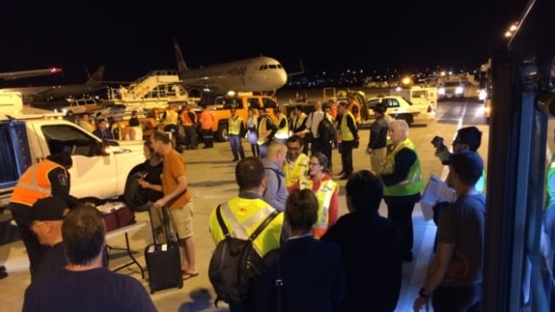 Travellers said they struggled to get up-to-date information while they were hunkered down at different resorts. On Saint Martin, those stranded faced consistent temperatures of more than 40 C as they tried to navigate their travel plans.