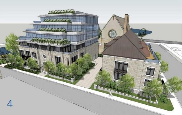 Southminster United Church Southminster condo Sept 11, 2017 rendering