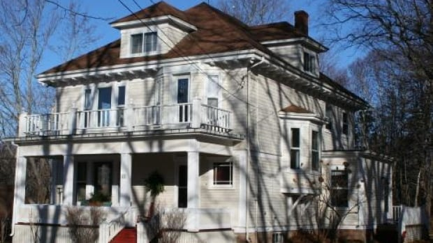 The David and Catherine Morrison Home is on Main Street in Montague.