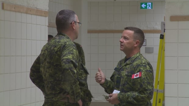 Canadian Forces members at base in St. John's