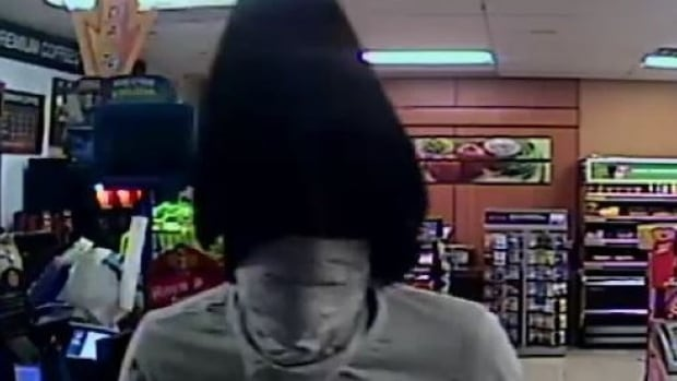 Windsor police released this photo of a suspect involved in a convenience store robbery Tuesday morning.