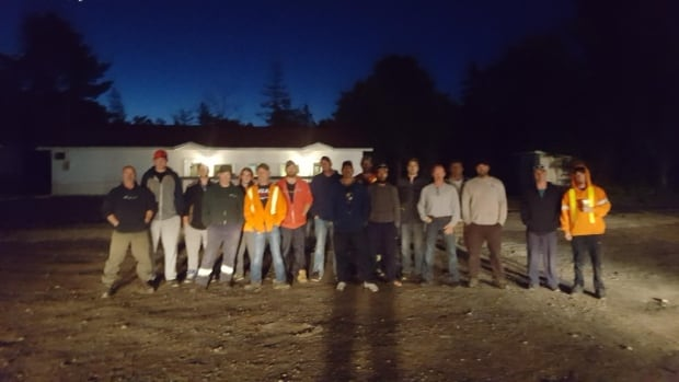 Wilderness Environmental Services, a Sault Ste. Marie, Ont., utility arborist company, has sent this crew of workers into the southern U.S. to help with the cleanup after Hurricane Irma.
