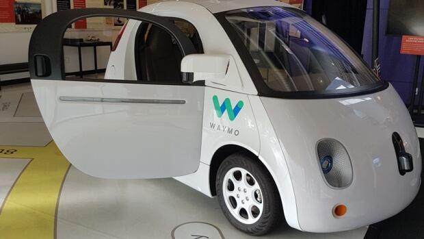 Autonomy - Google Waymo Car