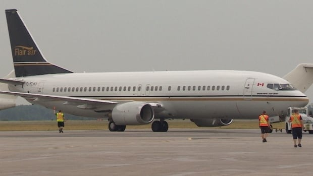 Flair Air currently operates a fleet of five Boeing 737-400s.