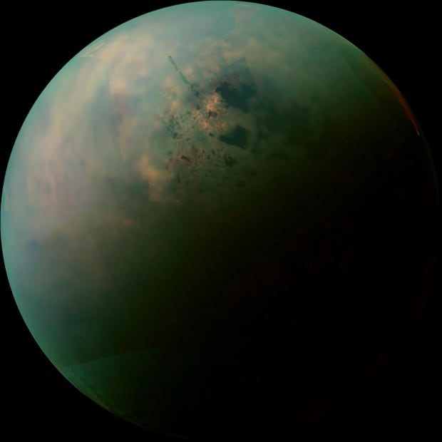 Cassini Saturn Titan