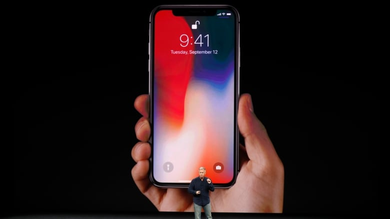 super popular add58 187bf One more thing': Apple unveils iPhone X | CBC News