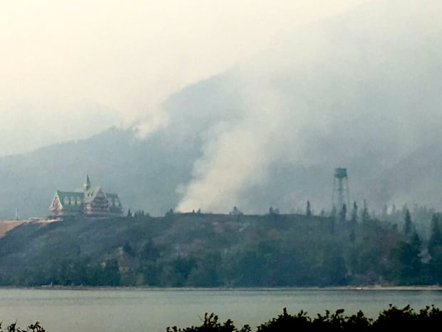 Waterton Prince of Wales hotel Kenow fire