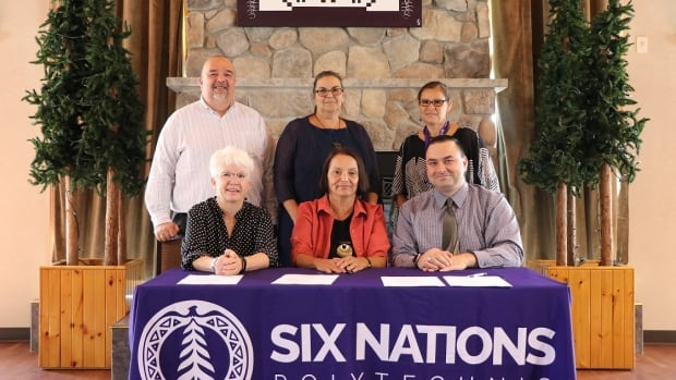 Six Nations Polytechnic and Canadore College announced their planned partnership today. SNP will draw upon Canadore's experience with other institutions in setting up Indigenous post-secondary learning programs.