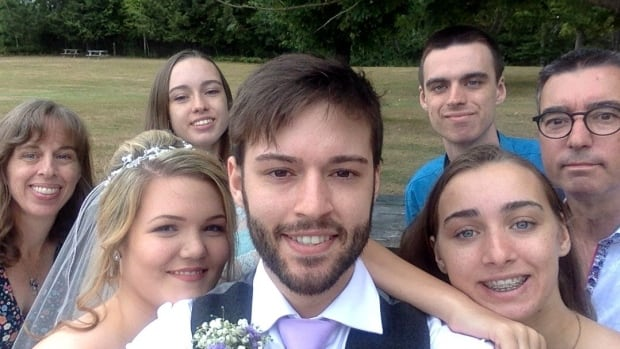 When Hugo Cornellier got engaged a year ago, he figured he'd take the final selfie with a smile.