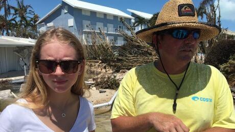 Mike Gilbert Islamorada Florida Keys Hurrican Irma