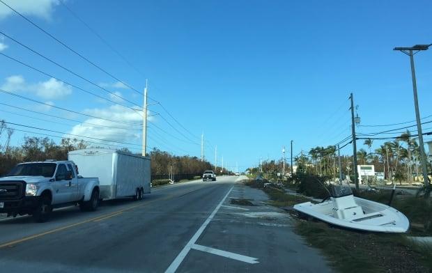 Islamorada Florida Keys Hurricane Irma