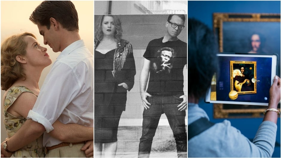 Today on q: Breathe stars Claire Foy and Andrew Garfield, Toronto band Stars and artist Alex Mayhew.