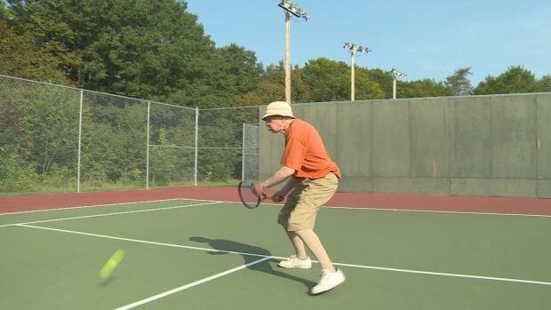 Bob Acorn tennis