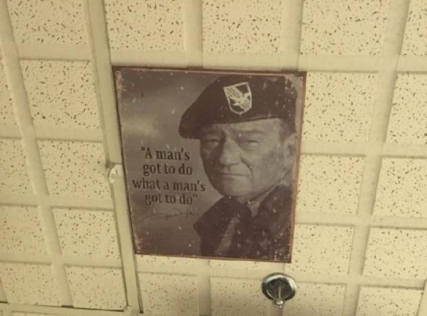 John Wayne in Billinkoff's office