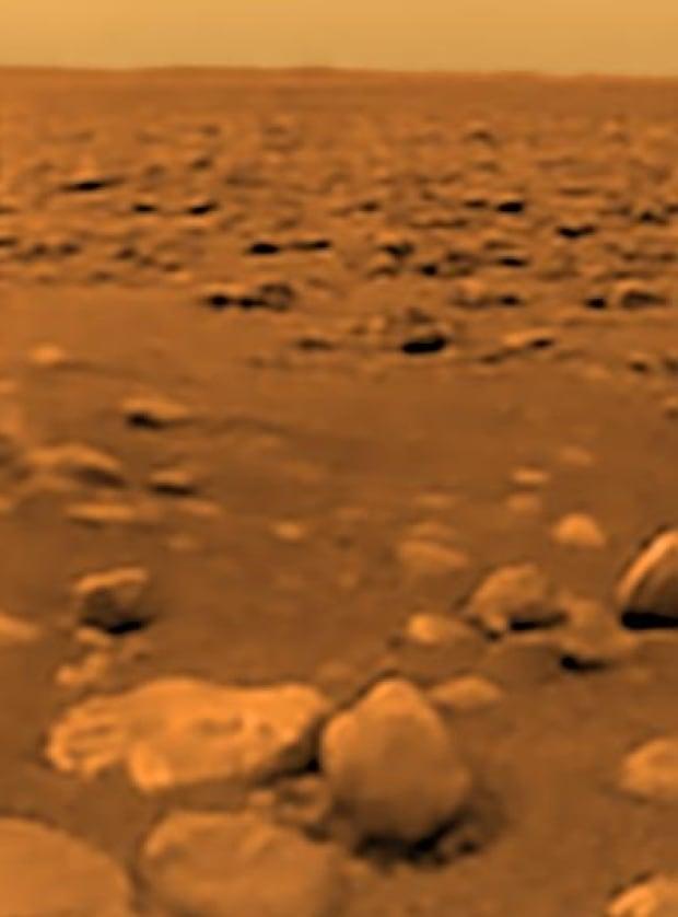 Titan surface Cassini Saturn