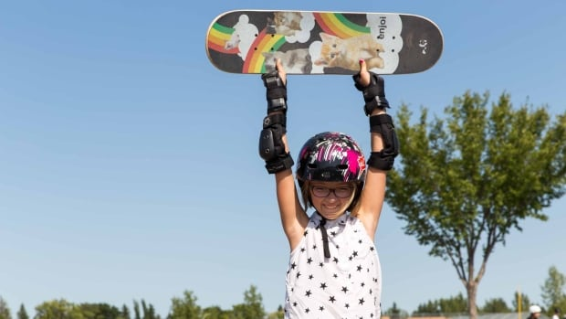 Gabby Olsen, 10, will be skating at the FISE competition in Edmonton this weekend.