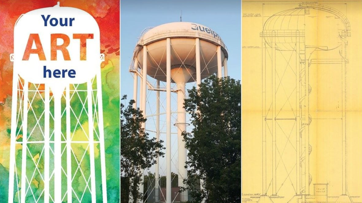 designers kitchener waterloo contest to design guelph water tower draws ire of local