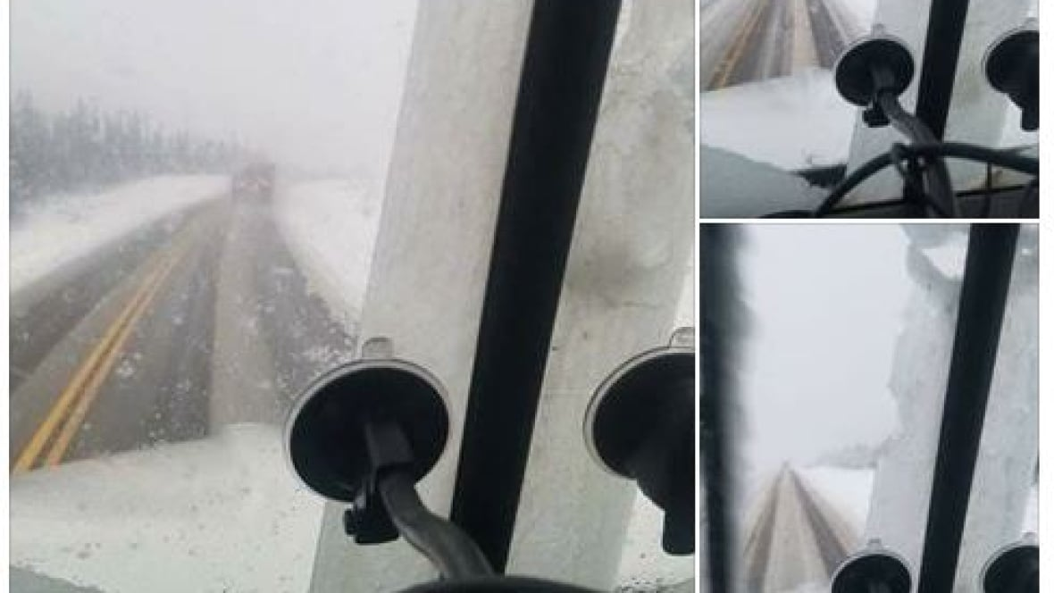 Brrrr: Communities west of Edmonton on edge of Alberta Rockies hit with first snowfall