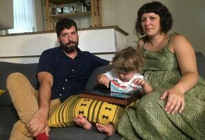 Michelle Hurtig, Kristjan Gottfried and their older child