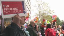 Phoenix pay system protest St. John's