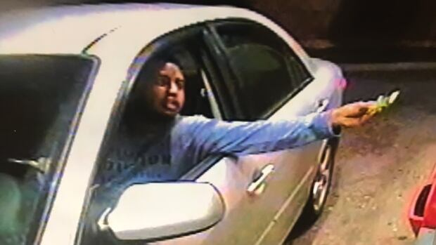 This security camera image shows Muhab Sultan making a purchase at a McDonald's drive-thru moments before he was confronted by Jeremy Cook in the restaurant's parking lot.