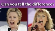 Hillary or Taylor