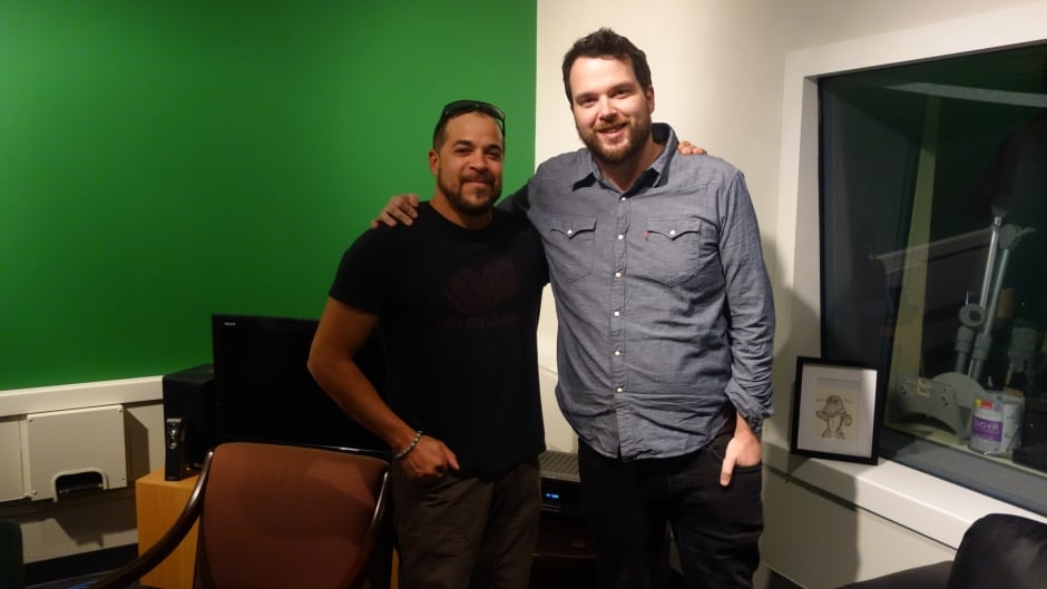 Black Cop director Cory Bowles with q host Tom Power
